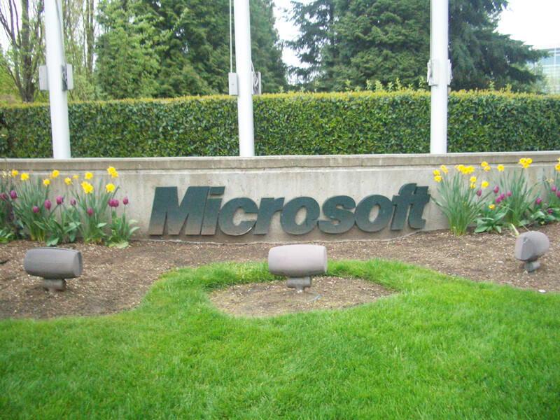 マイクロソフト シアトル本社2010年